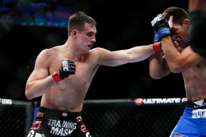 MacDonald dug deep and came back to defeat Maia at UFC 170 (Esther Lin/MMA Fighting)