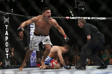 Kelvin Gastelum (Esther Lin/MMA Fighting)