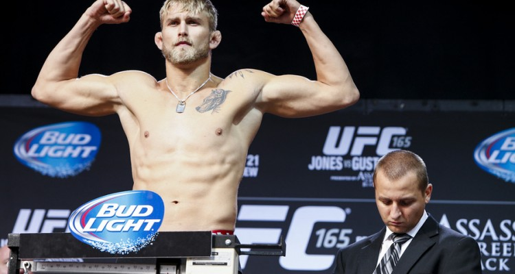 Alexander Gustafsson (Esther Lin/MMA Fighting)
