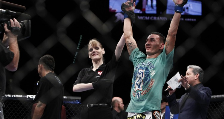 Max Holloway (Esther Lin/MMA Fighting)