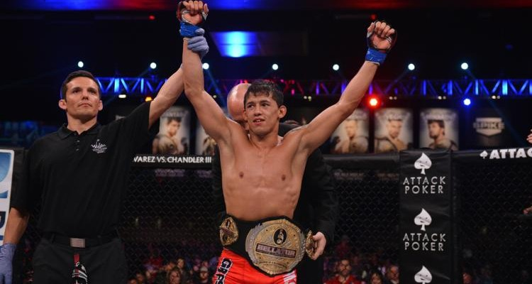 Eduardo Dantas retained the Bellator bantamweight title at Bellator 111 (Bellator)
