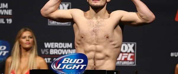 """""""The Eagle"""" is flying high, and is currently one of the most feared fighters at 155-pounds (Dave Mandel/Sherdog)"""