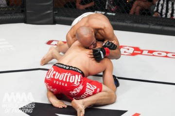 David Branch submits Jesse Taylor (Lucas Noonan/WSOF)