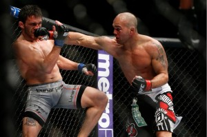 """""""Ruthless"""" dominated Ellenberger and will now fight Brown for another chance at the title (Esther Lin/MMA Fighting)"""