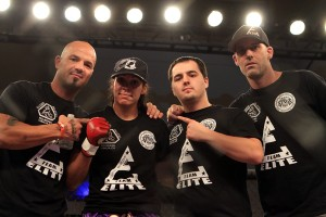 Reneau (second from left) (Jeff Sherwood/Sherdog)