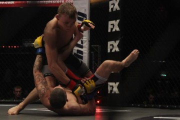 Alex Enlund (top) (Mick Bower/Sherdog)
