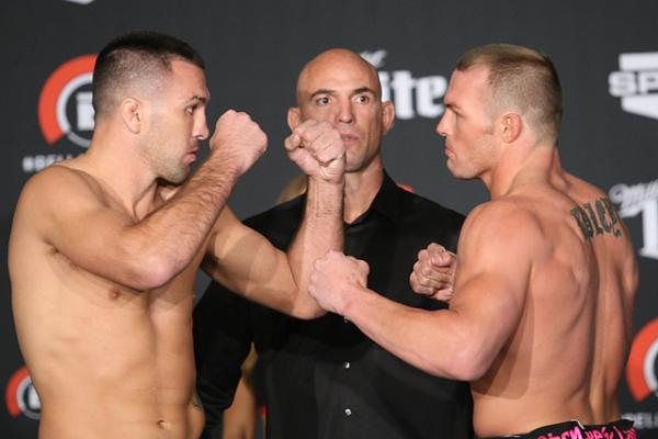Josh Neer and Paul Bradley (left to right) (Keith Mills/Sherdog)