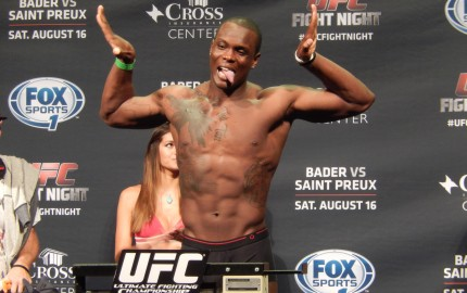 Ovince Saint Preux (José Youngs/The MMA Corner)