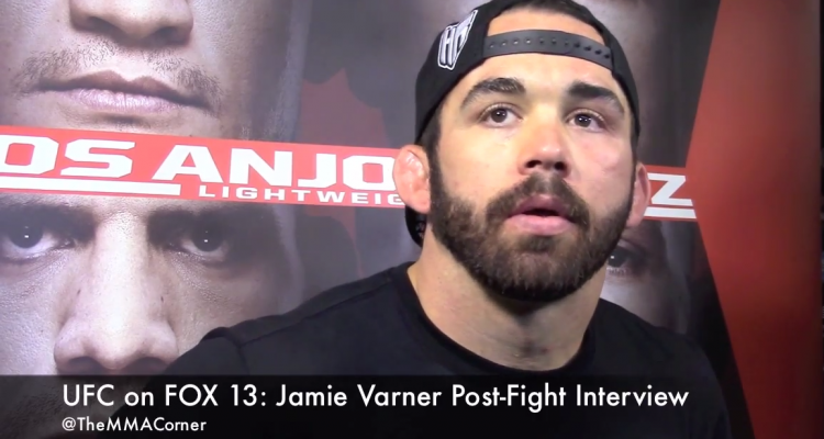 Jamie Varner  (José Youngs/The MMA Corner)