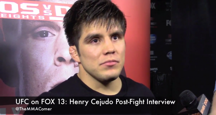 Henry Cejudo (José Youngs/The MMA Corner)