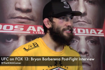 Bryan Barberena (José Youngs/The MMA Corner)