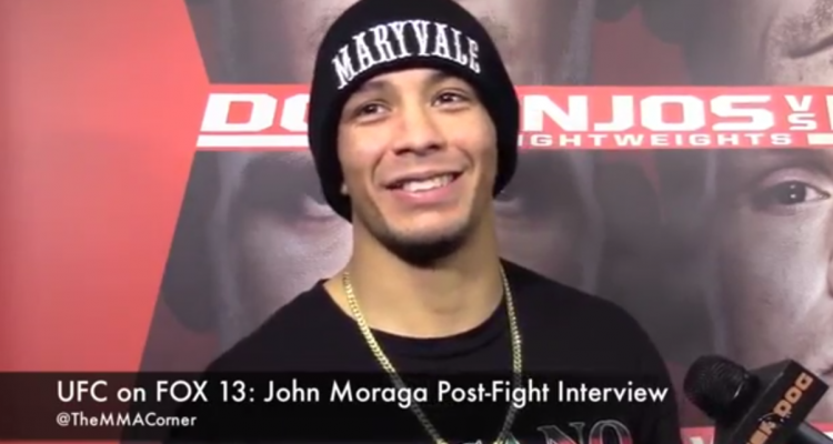 John Moraga (José Youngs/The MMA Corner)