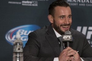 CM Punk (Esther Lin/MMAFighting)