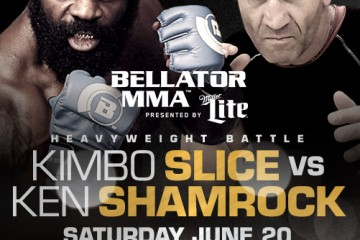 Slice (L) vs. Shamrock (R) (Bellator MMA)