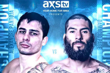 Alexandre Pantoja and Damacio Page. (RFA vs. Legacy)