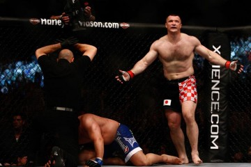 Cro Cop (standing) (Esther Lin/ MMAFighting)