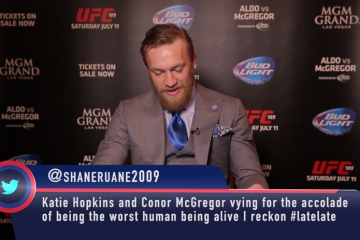 Conor McGregor Reading Mean Tweets (BT Sport)