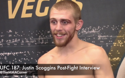 Justin Scoggins (José Youngs/The MMA Corner)