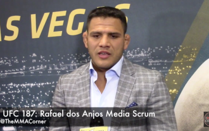 Rafael dos Anjos (José Youngs/The MMA Corner)