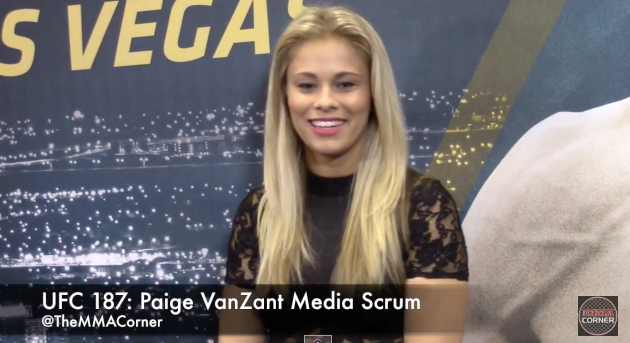 Paige VanZant (José Youngs/The MMA Corner)