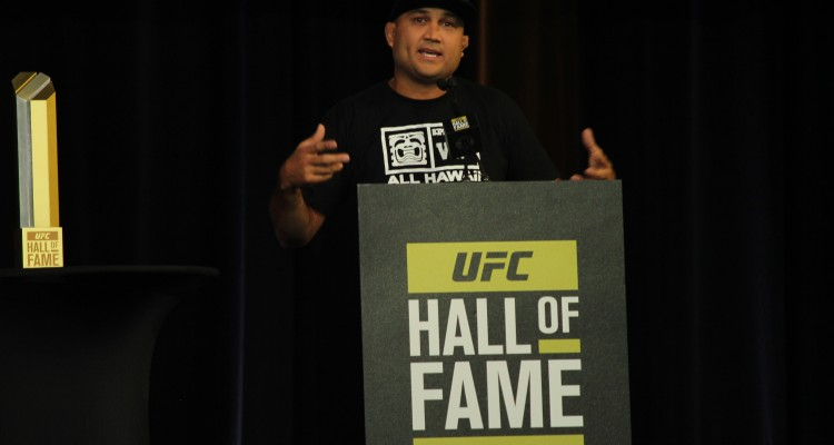 UFC Hall of Fame Inductee BJ Penn (José Youngs/The MMA Corner)