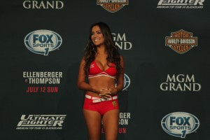 UFC Octagon Girl Luciana Andrade (José Youngs/The MMA Corner)