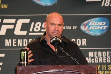 Dana White  (José Youngs/The MMA Corner)