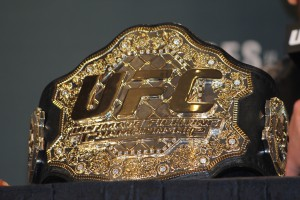 UFC Championship Belt (José Youngs/The MMA Corner)