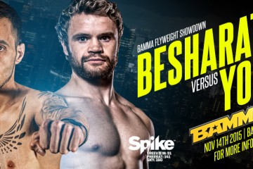 Besharate vs Young (BAMMA)
