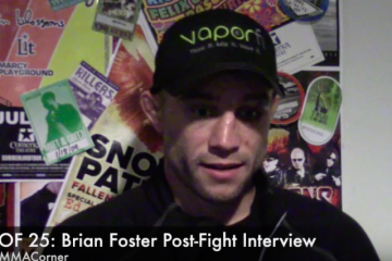 Brian Foster (Miguel Torres/The MMA Corner)