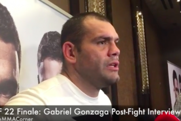 Gabriel Gonzaga  (José Youngs/The MMA Corner)