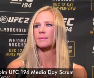 Holly Holm (José Youngs/ The MMA Corner)
