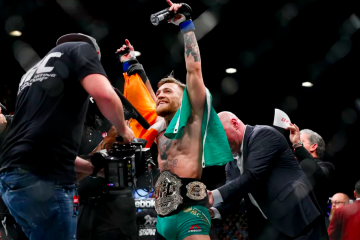 Conor McGregor (Esther Lin/MMAFighting)
