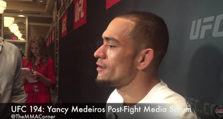 Yancy Medeiros (José Youngs/The MMA Corner)