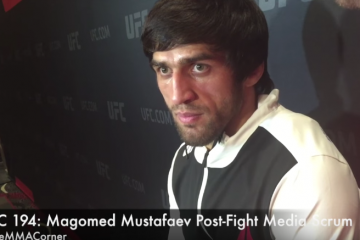 Magomed Mustafaev (José Youngs/The MMA Corner)