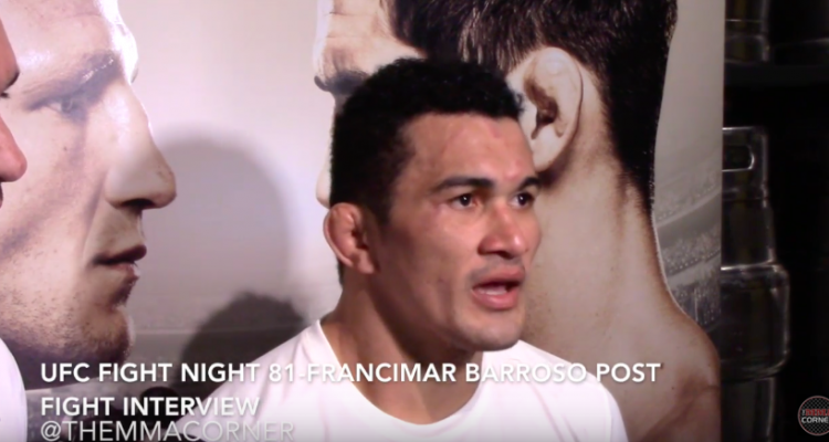 Francimar Barroso (Andy Suekoff/The MMA Corner)