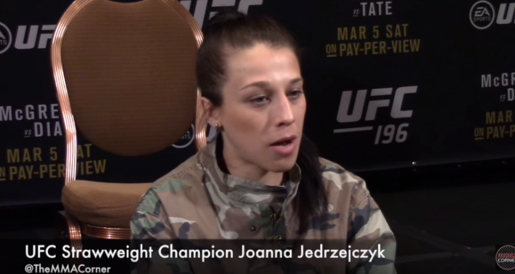Joanna Jedrzejczyk (José Youngs/The MMA Corner)