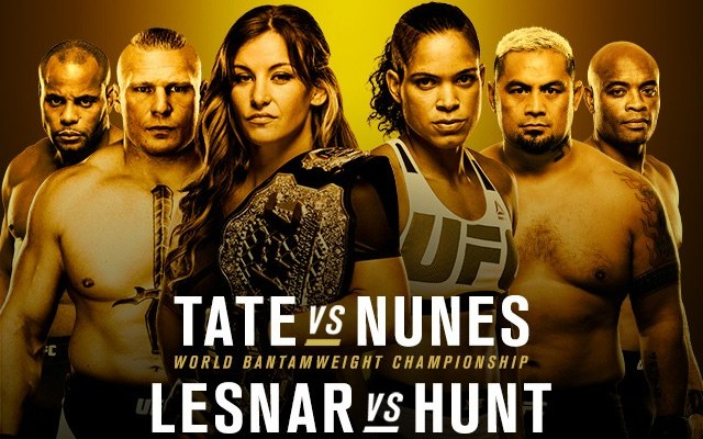 UFC 200 featured some of the biggest names in MMA // Source: Zuffa, UFC.com