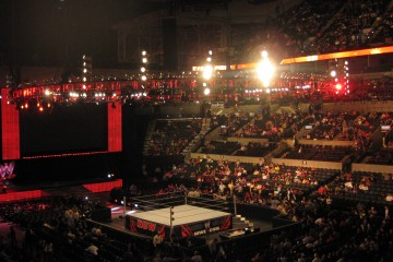 WWE_setup_in_the_At&t_center