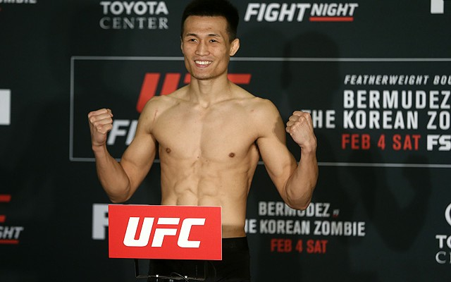 Chan Sung Jung, The Korean Zombie (Dave Mandel/Sherdog)